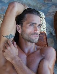 Voted the most handsome man in the world. Theo Theodorisdis, model and actor, Greece.  Most handsome? Quite possibly. But, he's in prison in Greece for drugs. Darn, I guess you really can't have everything.