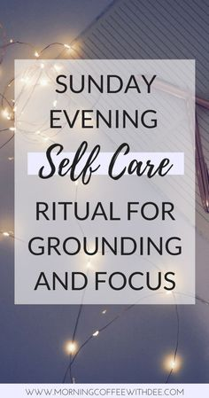 There's something about Sunday that symbolizes rest, and relaxation. I use Sunday to prepare myself for the upcoming week, mentally, physically, and emotionally. Here's a look into my own Sunday evening ritual that I use to practice self care and prepare