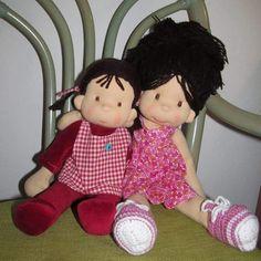 Sisters❤#bemkadolls #waldorfinspired #wooldoll #poupeewaldorf #handmadedoll #love#sisters#puppenwaldorf
