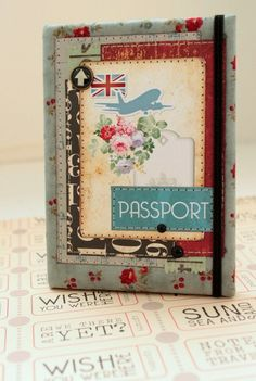 AN Scrap: Многообложечный пост. Passport, Frame, Blog, Decor, Decoration, Decorating, Frames, A Frame, Blogging