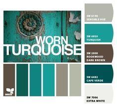 turquoise grey interior - Поиск в Google