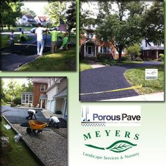 Porous Pave is a great alternative to concrete or asphalt for your driveway,  walkway, patio or play area! It's heavy duty, flexible, eco-friendly and easy to maintain! Contact Meyers Landscape Services today for more information!