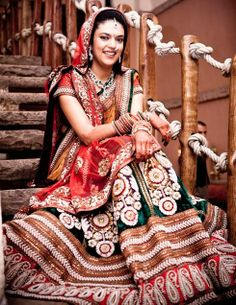 Sabhyasachi Lehenga is all  want for marriage  loved and pinned by www.omved.com