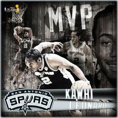 2013-2014 NBA Finalleri MVP'si Kawhi Leonard !