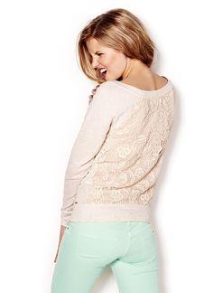 Crochet Back Boatneck Sweater     https://www.christchurchschool.org/podium/default.aspx?t=131098=1