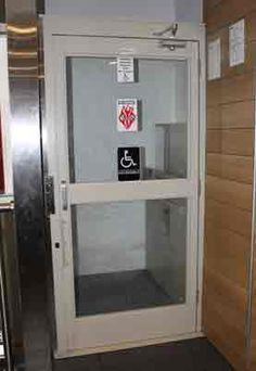 Savaria V-1504 Vertical Platform Lift New York, New Jersey - DAY offers Savaria V-1504 vertical platform lift. V-1504 Wheelchair platform lift.
