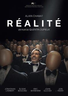 Réalité est un film de Quentin Dupieux avec Alain Chabat, Jonathan Lambert. Synopsis : Jason Tantra, un cameraman placide, rêve de réaliser son premier film d'horreur. Bob Marshall, un riche producteur, accepte de financer son film à une