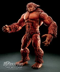 "#Marvel Legends 6"" Deadpool Wave Sasquatch Build-A-Figure Official Image #Marvel"
