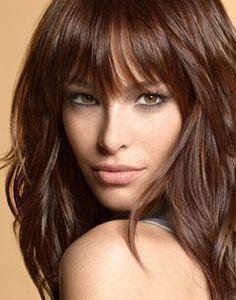 Elegant Dark Hair Colors for Green Eyes