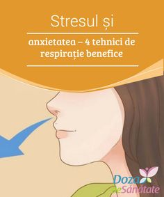 Stresul și #anxietatea – 4 tehnici de respirație #benefice  Suferi de stres sau anxietate? #Citește în continuare pentru a descoperi #câteva tehnici de respirație incredibile care îți vor fi de mare ajutor! Lunges, Healing, Stretching, Natural Remedies, Therapy, Recovery, Sprain