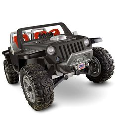Power Wheels® Jeep® Hurricane with Monster Traction™ (Black) by Fisher-Price