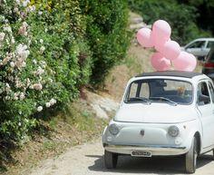 wedding #fiat #500 #cinquecento