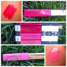 Must have lip gloss!! 4 high pigmented lip gloss for only 5.50! I love these!! From Forever 21