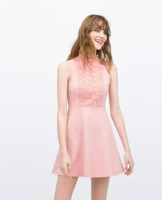 Image 1 of COMBINED DRESS from Zara
