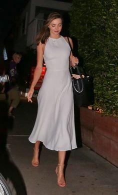 miranda kerr style best outfits - Page 31 of 100 - Celebrity Style and Fashion Trends Estilo Miranda Kerr, Miranda Kerr Style, Miranda Kerr Dress, Miranda Kerr Outfits, Dress Skirt, Dress Up, Look Fashion, Womens Fashion, Elegant Fashion Style
