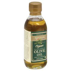 Spectrum Naturals Organic Unrefined Extra Virgin Olive Oil - Case Of 6 - 8 Fl Oz.