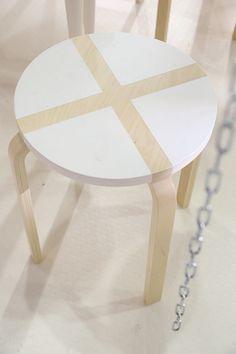 Оригинальная идея покраски стула / Мебель / ВТОРАЯ УЛИЦА