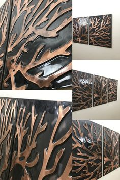 Modern wall and home decor. The dance of art with copper. Fully handmade copper designs. It will add beauty to your home. Office Wall Art, Office Walls, Copper Crafts, Modern Wall Decor, Handmade Copper, Tree Of Life, Home Crafts, Etsy Seller, Dance