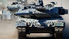 Deutschland hat die Zahl der Kampfpanzer seit 1990 radikal reduziert. Damit ist jetzt Schluss.
