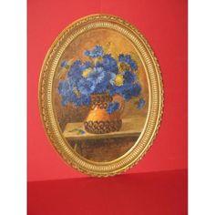 Bouquet De Fleurs, Peinture à l'Huile, époq[...]