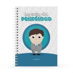 Cuaderno XL - Las notas del politólogo, encuentra este producto en nuestra tienda online y personalízalo con un nombre. Notebook, Cover, Socialism, Notebooks, Report Cards, Store, Working Man, The Notebook, Exercise Book