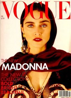 Madonna by Herb Ritts Vogue UK February 1989