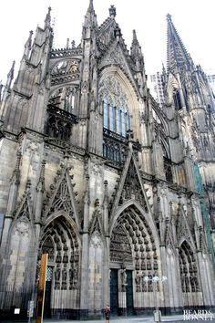 Sunday Snapshots: German Architecture {Beard and Bonnet} #gothicarchitecture
