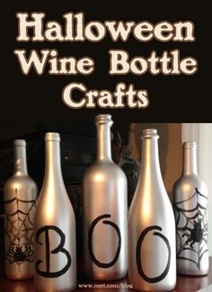 If you love drinking wine, crafting and Halloween, this is the article for you.
