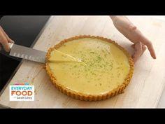Sarah Carey's Key Lime Tart Recipe - Everyday Food with Sarah Carey - YouTube