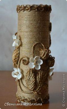 Produit Master-class coquillages Assemblage macramé Craft Master Class Vase Fraises sauvages adhésif fil Ficelle Photo 3