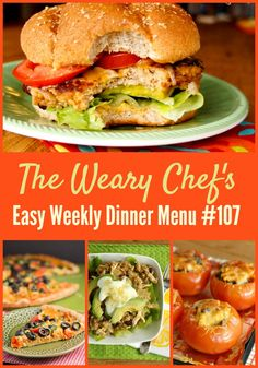 Grab your sombreros for this Mexican and Southwest inspired menu of easy dinner ideas!