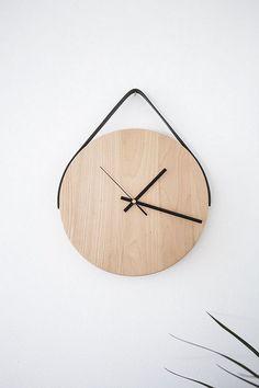 Round Chopping Board Wall Clock