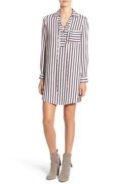 Free shipping and returns on Wayf Lace-Up Shirtdress at Nordstrom.com. Lace-up detailing adds '70s-inspired charm to a season-spanning shirtdress cut in a relaxed, swingy silhouette, beautifully melding bohemian whimsy with a tried-and-true style.