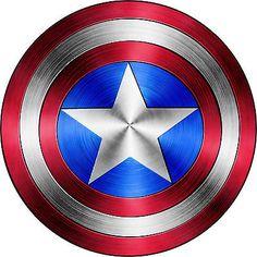 "Captain America Shield Vinyl Sticker Decal 6"" (full color)"