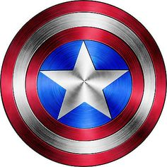 "Captain America Shield Vinyl Sticker Decal 6"" (full color)"