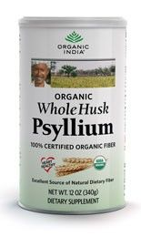 Our psyllium is USDA certified organic. In whole husk form, derived from the seeds of the herb Plantago ovata, psyllium husks are a rich source of soluble fiber. They naturally promote healthy elimination and regularity while supporting the gastrointestinal system.