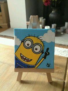 Minion on canvas