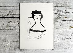 ART ///// A4 Print Behind by MaisonPaulette on Etsy, 29.00
