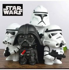 New Star Wars piggy bank Darth Vader Stormtrooper Jedi stormtrooper Coin Bank Star Wars Action Figure Toy Coin With Box E344