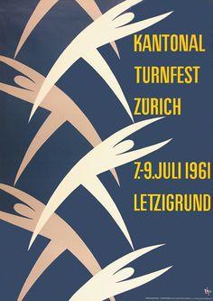 Alex W. Diggelmann, Kantonal Turnfest Zuerich, 1961