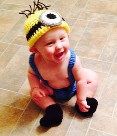 Minion costume for baby!
