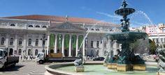 magnificent Rossio square