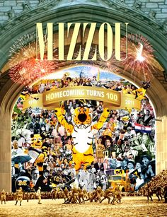 Looks like Mizzou will be having a crazy Centennial Homecoming!