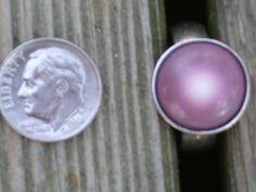 quahog purple pearl ring