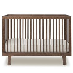 Walnut Sparrow Bed Oeuf NYC Baby- A large selection of Design on Smallable, the Family Concept Store - More than 600 brands.
