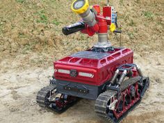 Remote Controlled Robot Brings the Fight to the Fire.