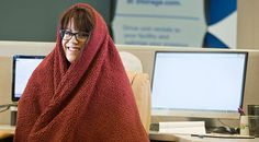 If you work in an office, chances are that you or the person sitting next to you has grumbled about it being too hot or too cold.    No one likes rugging up on a summer's day