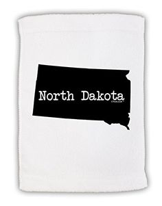 TooLoud North Dakota  United States Shape Micro Terry Sport Towel 11x8 ** You can find more details by visiting the image link.