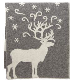 A warm wool blanket from Finland - what image would fit better than that of a reindeer under the stars? The VALKKO blanket, designed by Marja Rautiainen, is the perfect Christmas gift too, from the land of Santa Claus.