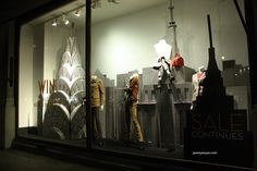 Banana Republic at Regent Street, London visual merchandising